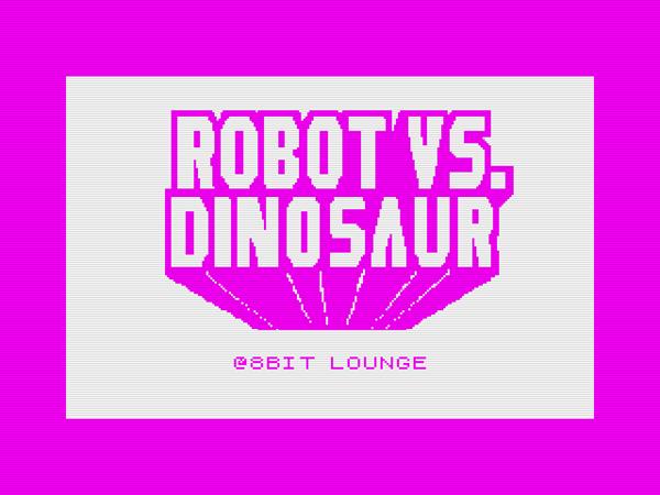 Robot vs Dinosaur Spectrum logo